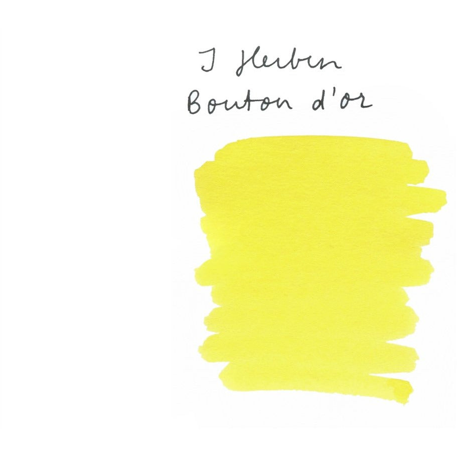 <center>J. Herbin Fountain Pen Ink (30mL) - Bouton D'or</center>