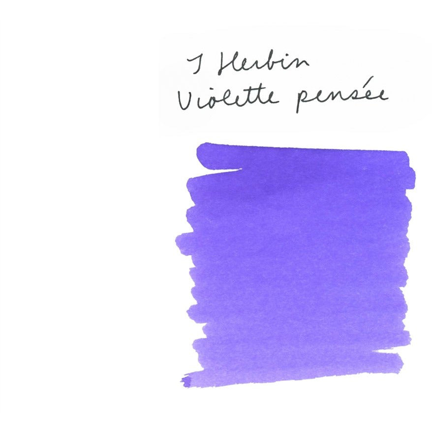 <center>J. Herbin Fountain Pen Ink (30mL) - Violette Pensee</center>