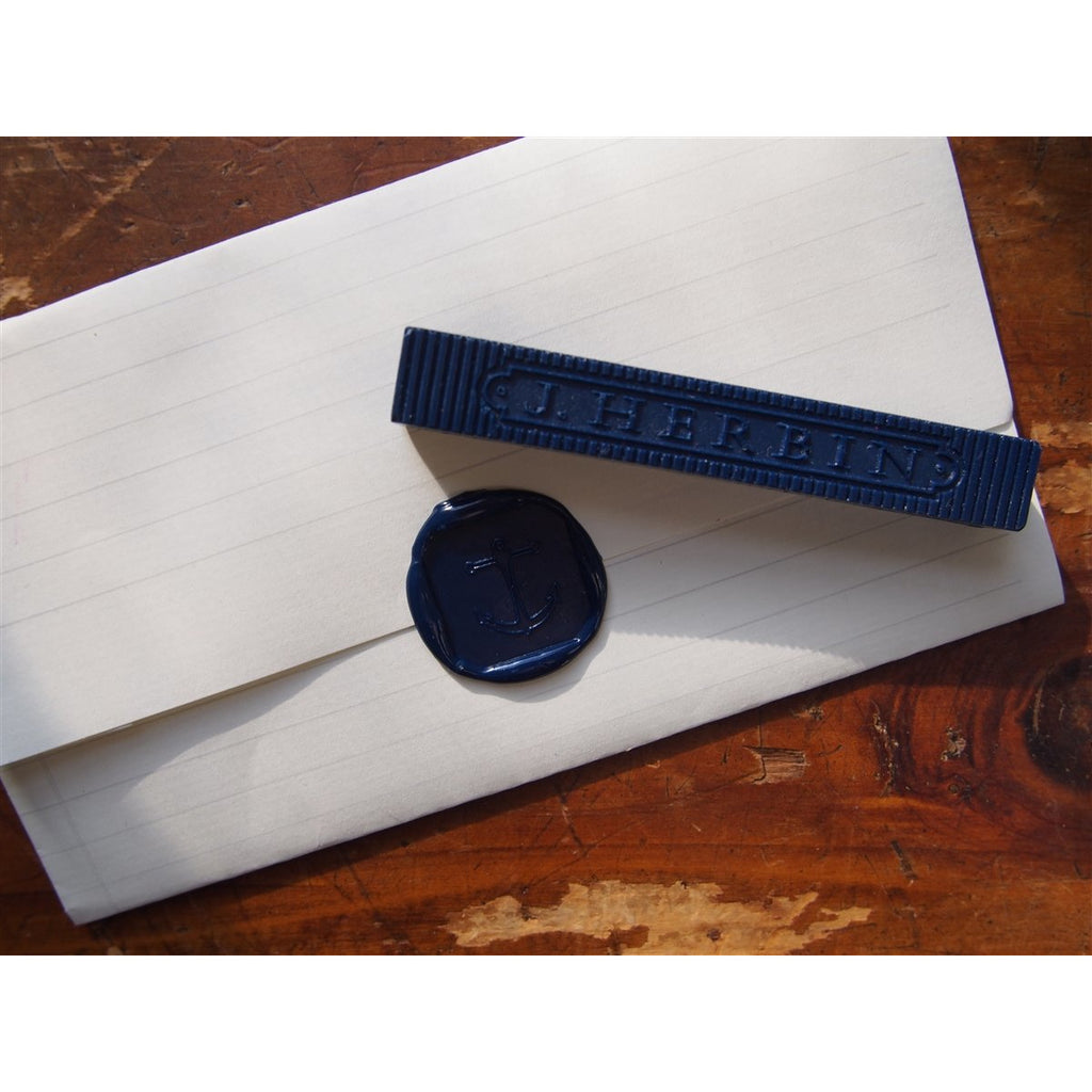 <center>J. Herbin Supple Sealing Wax Pack of 4 - Midnight Blue</center>