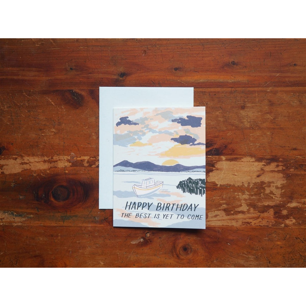 <center>Small Adventure Card - Sunrise Birthday</center>
