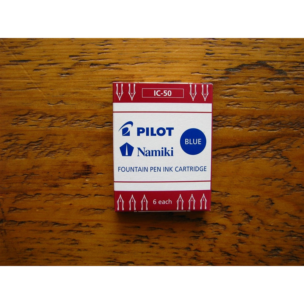 <center>Pilot Ink Cartridges - Blue</center>