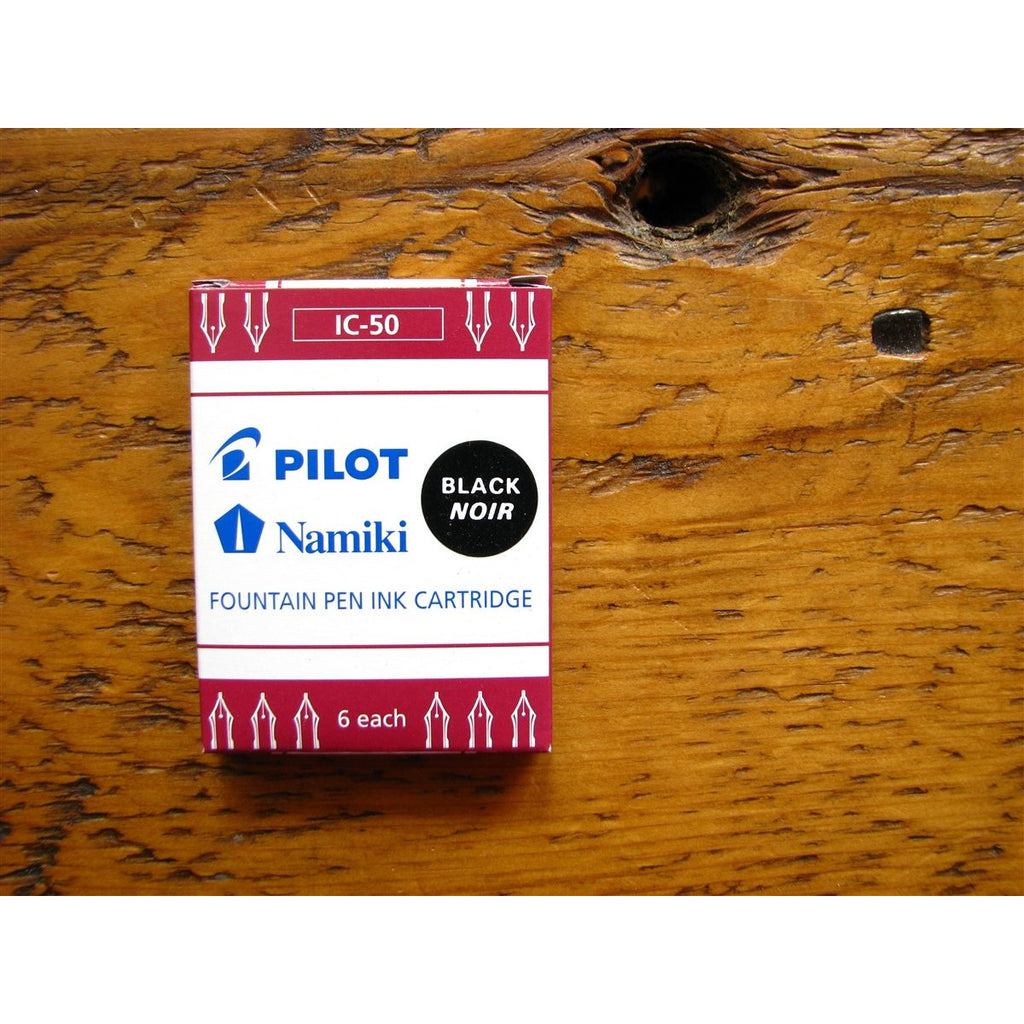 <center>Pilot Ink Cartridges - Black</center>