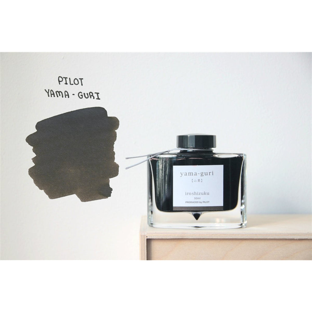 <center>Pilot Iroshizuku Fountain Pen Ink - Yama-Guri 50mL</center>