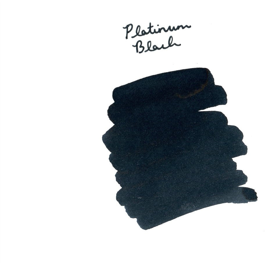 <center>Platinum Fountain Pen Ink (60 mL) - Black</center>