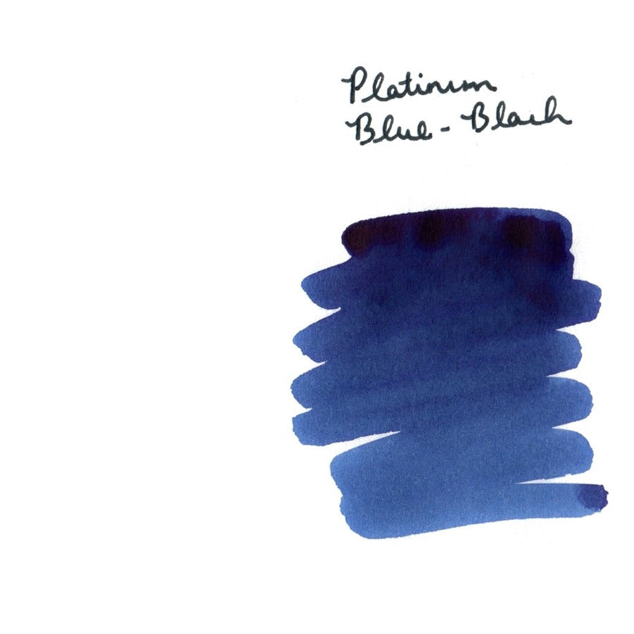 <center>Platinum Fountain Pen Ink (60 mL) - Blue-Black</center>