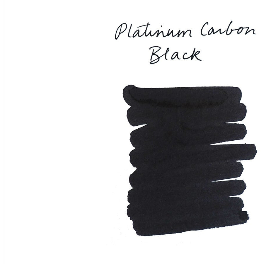 <center>Platinum Fountain Pen Ink (60 mL) - Carbon Black</center>