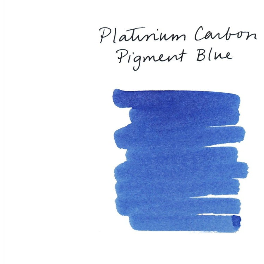 <center>Platinum Fountain Pen Ink (60 mL) - Pigment Blue</center>