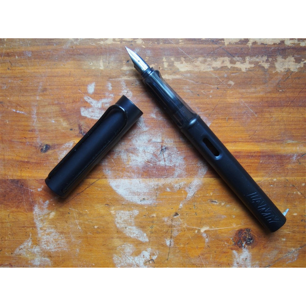 <center>Lamy Al-Star Fountain Pen - Black</center>