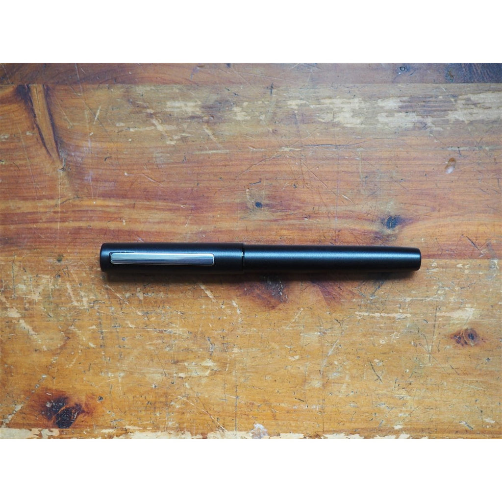 <center>Lamy Aion Fountain Pen - Black Steel</center>