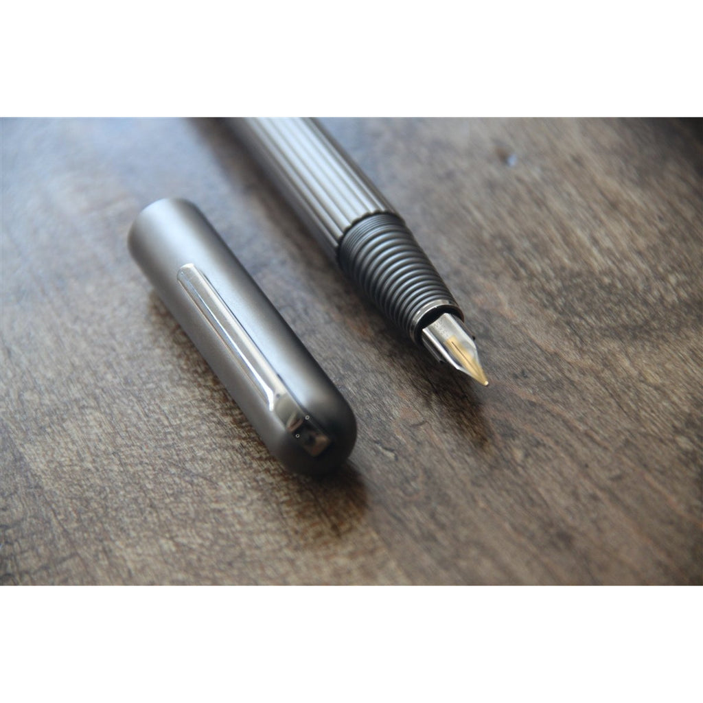 <center>Lamy Imporium Fountain Pen - Titanium Matt</center>