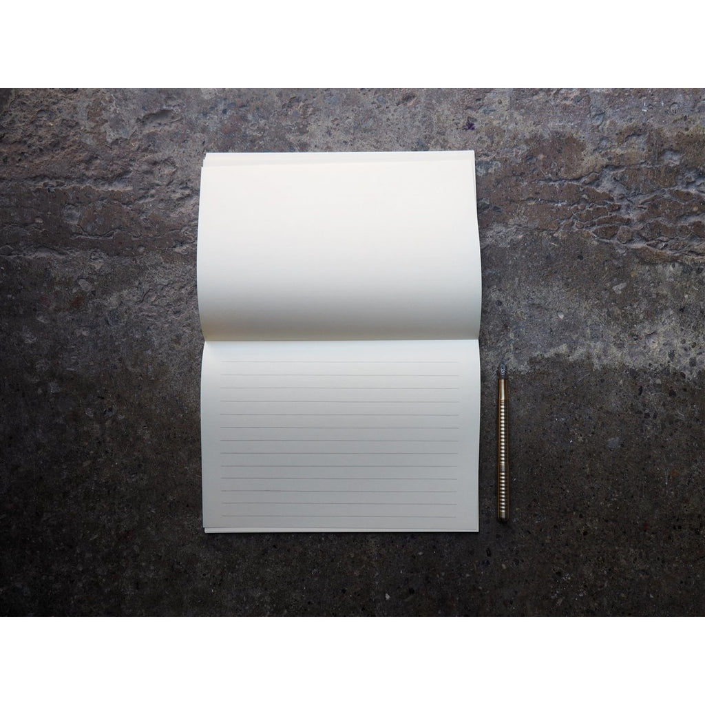 <center>Life - L Brand Letter Pad (148 x 210mm) - Cream Landscape Lined</center>