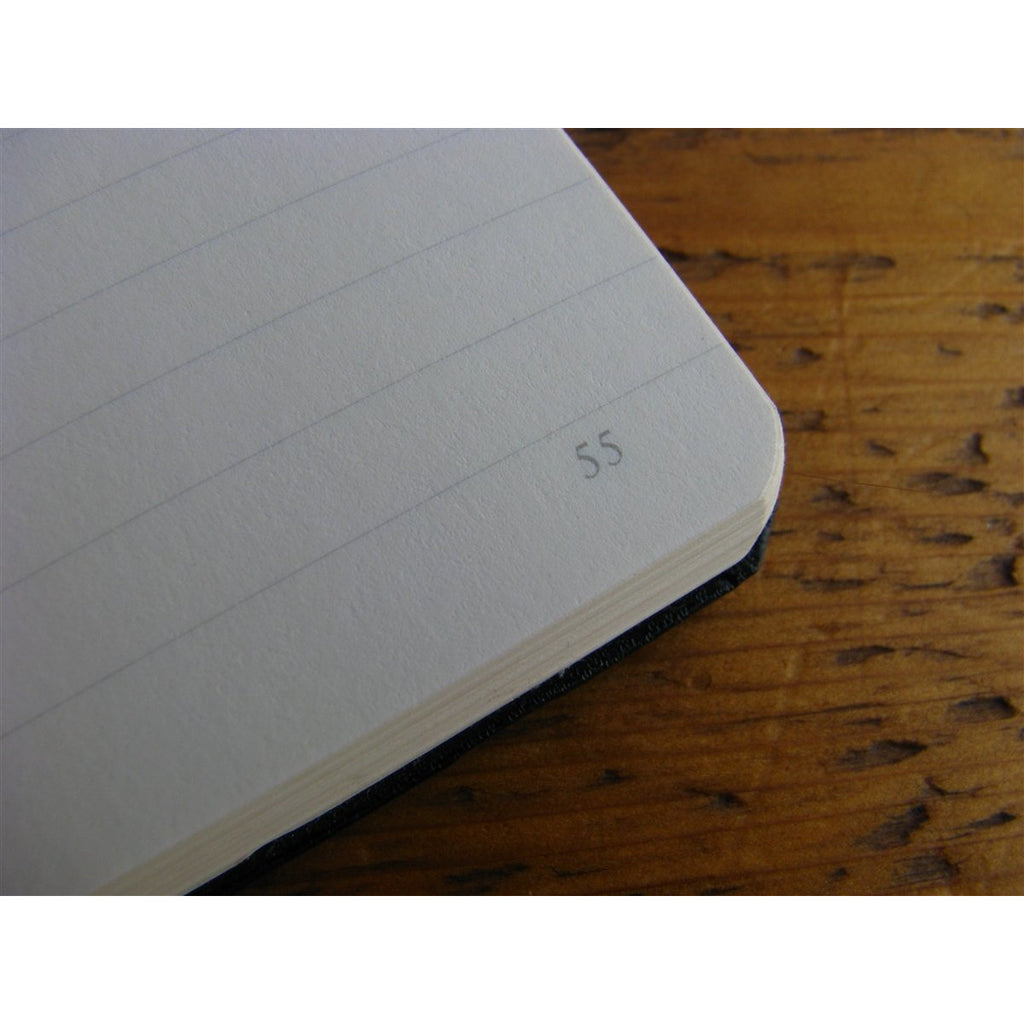 <center>Leuchtturm Hardcover A5 Notebook - Black (Lined)</center>