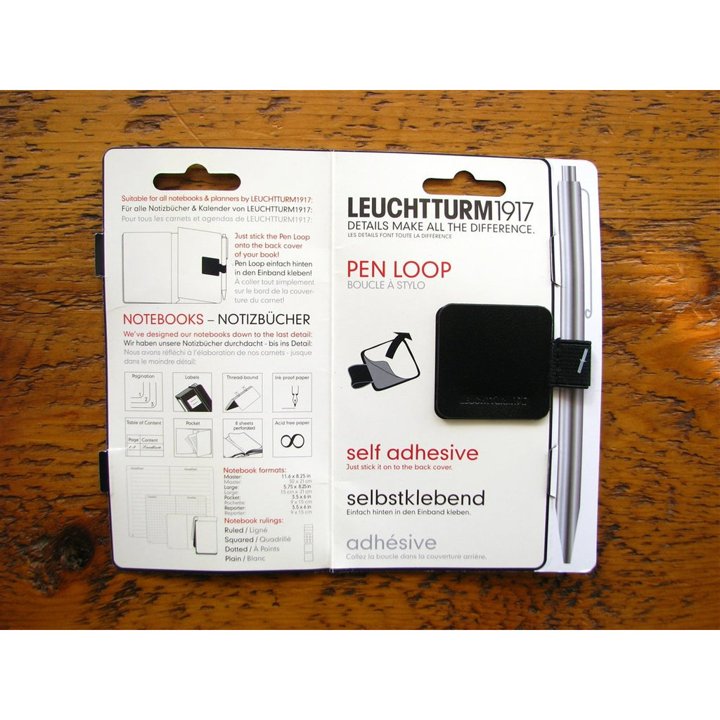 <center>Leuchtturm Pen Loop - Black</center>