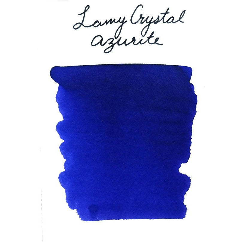 <center>LAMY Crystal Fountain Pen Ink (30mL) - Azurite</center>