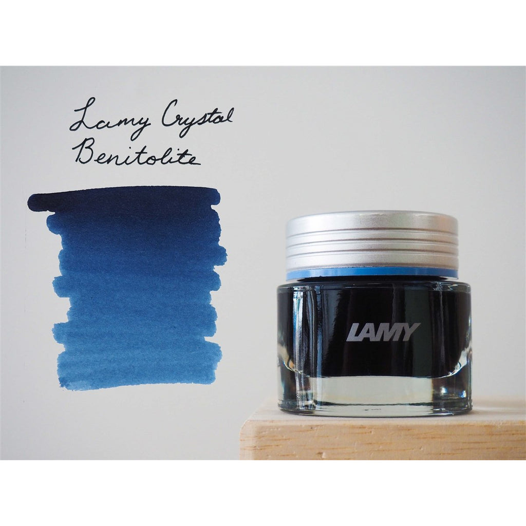 <center>LAMY Crystal Fountain Pen Ink (30mL) - Benitoite</center>