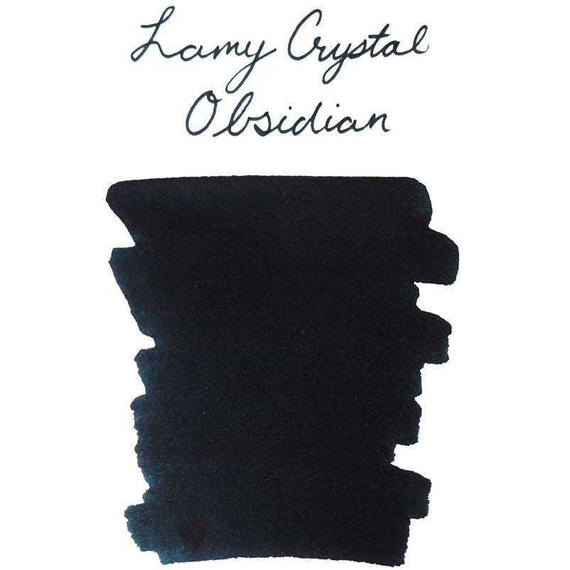 <center>LAMY Crystal Fountain Pen Ink (30mL) - Obsidian</center>