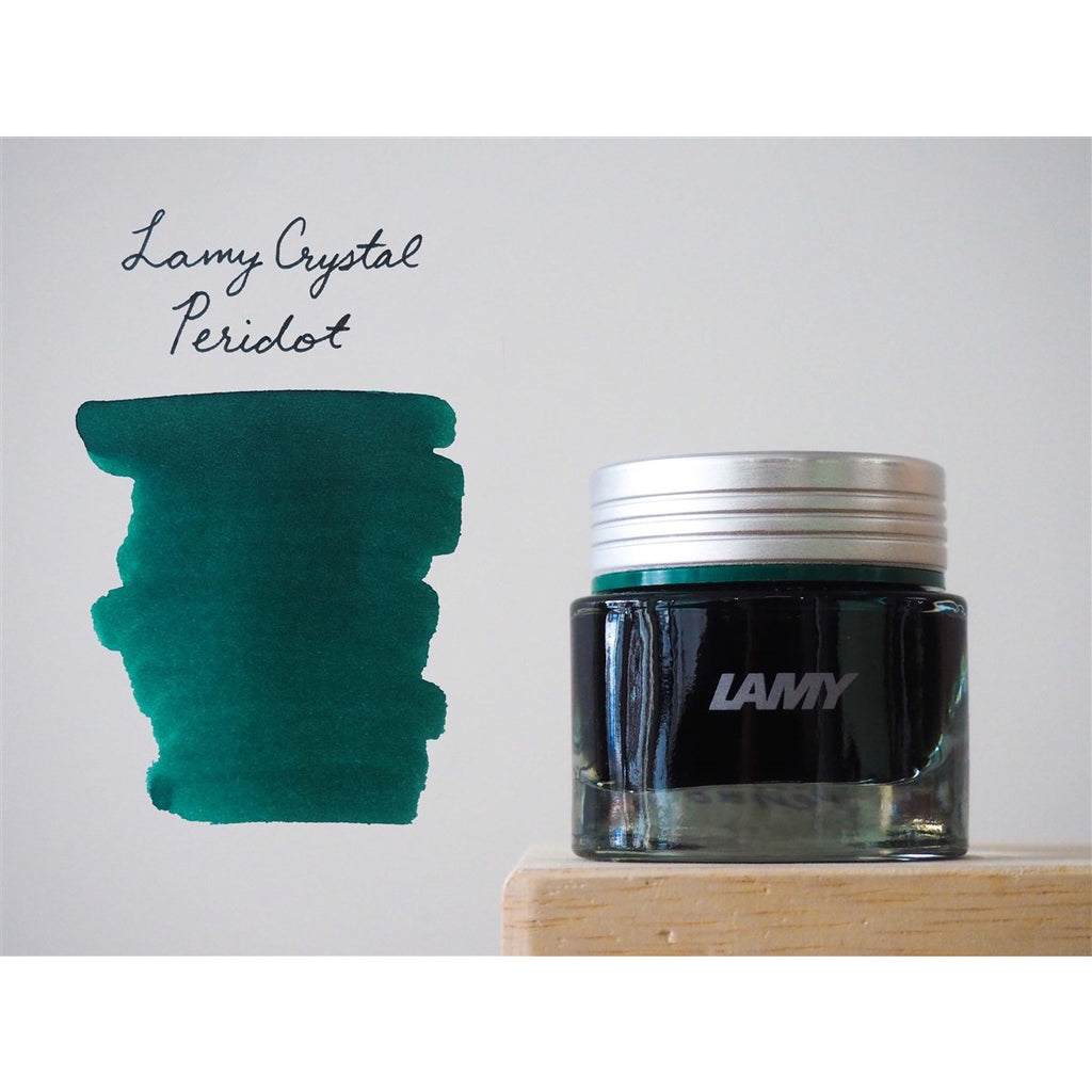 <center>LAMY Crystal Fountain Pen Ink (30mL) - Peridot</center>