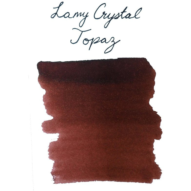 <center>LAMY Crystal Fountain Pen Ink (30mL) - Topaz</center>