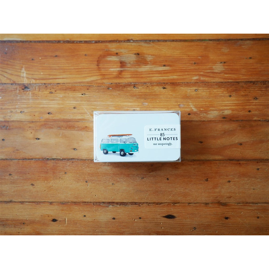 <center>E. Frances Paper - 85 Card Set - Surf Bus Little Notes</center>