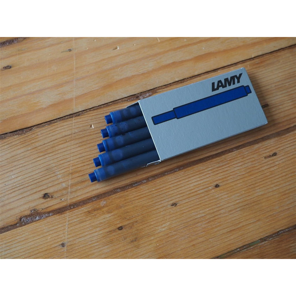 <center>Lamy Ink Cartridges - Blue-Black (Box of 5)</center>