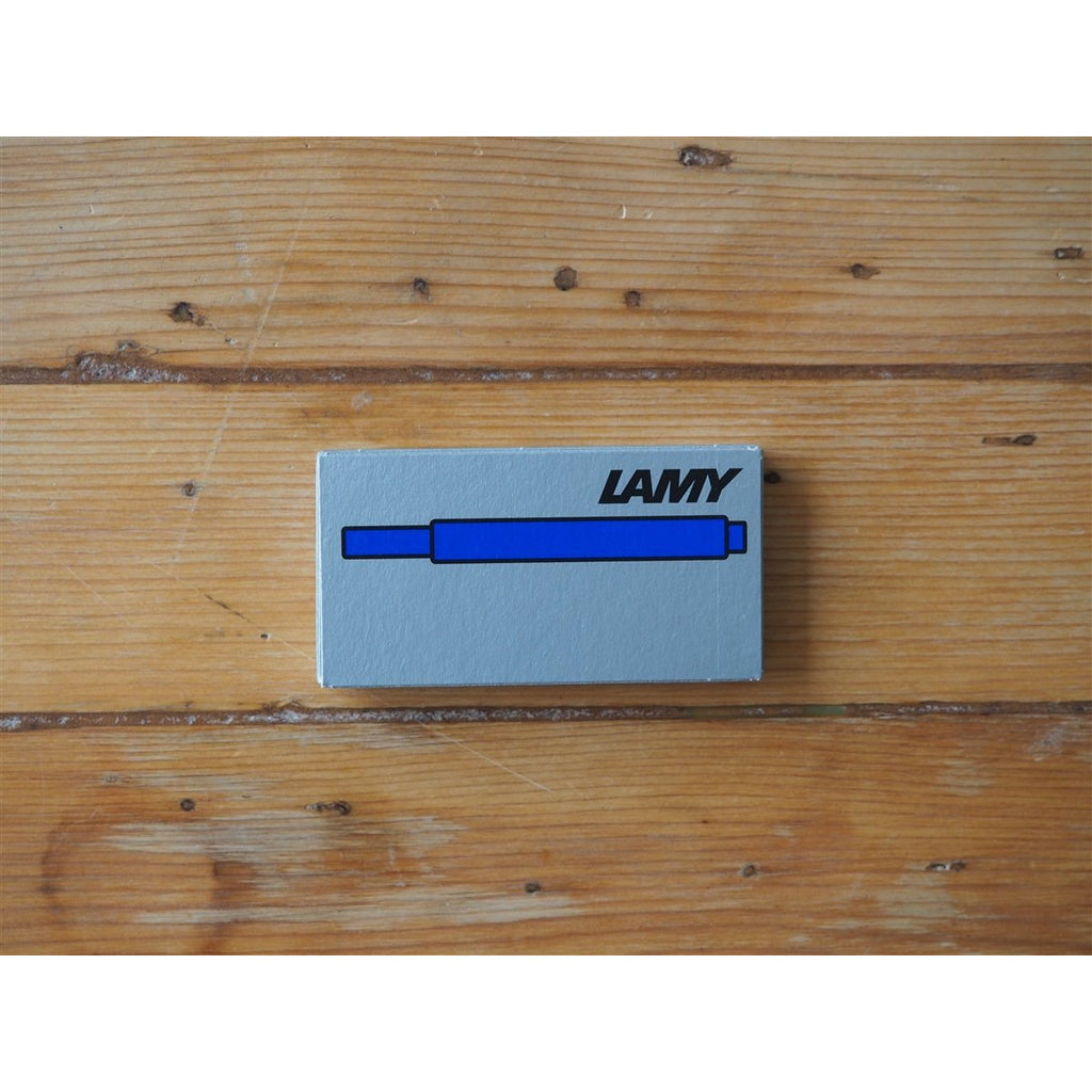 <center>Lamy Ink Cartridges - Blue (Box of 5)</center>