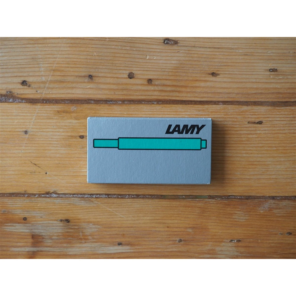 <center>Lamy Ink Cartridges - Green (Box of 5)</center>