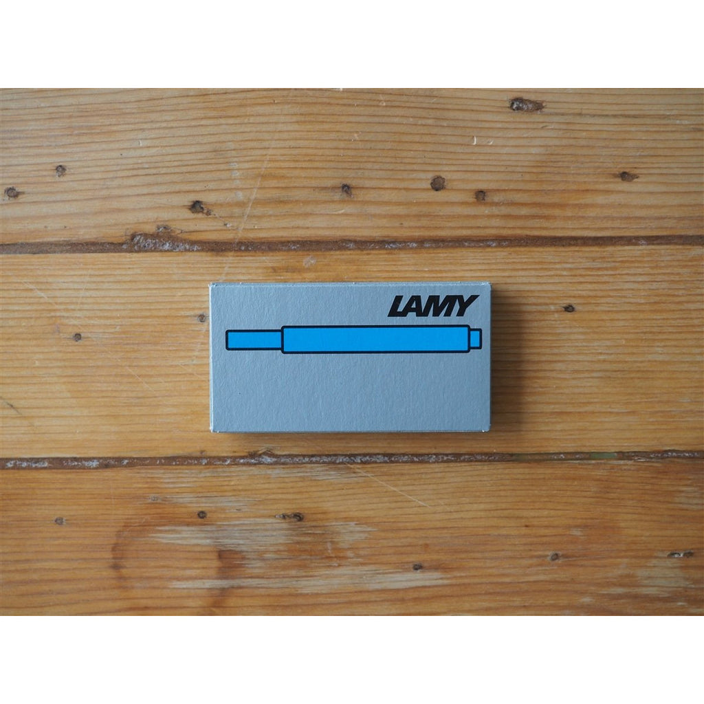 <center>Lamy Ink Cartridges - Turquoise (Box of 5)</center>