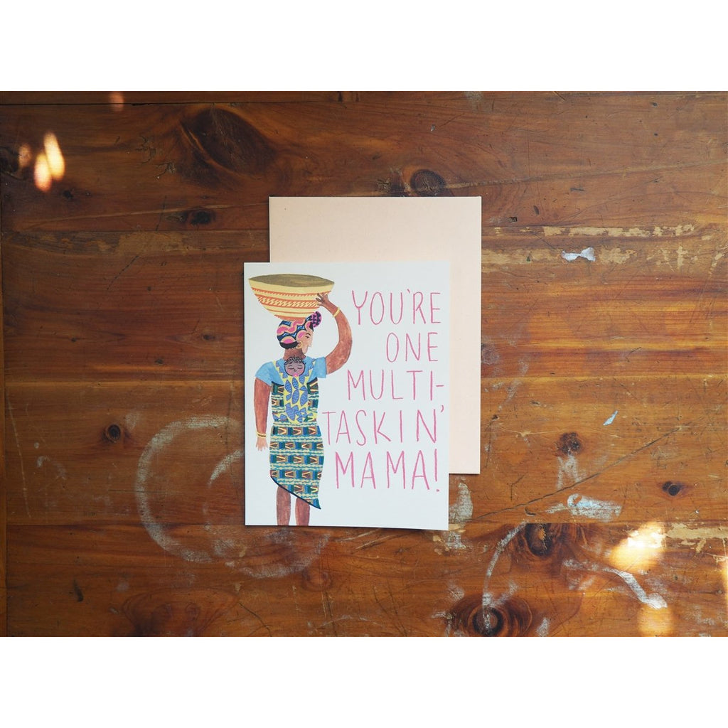 <center>Small Adventure Card - Multi-taskin' Mama</center>