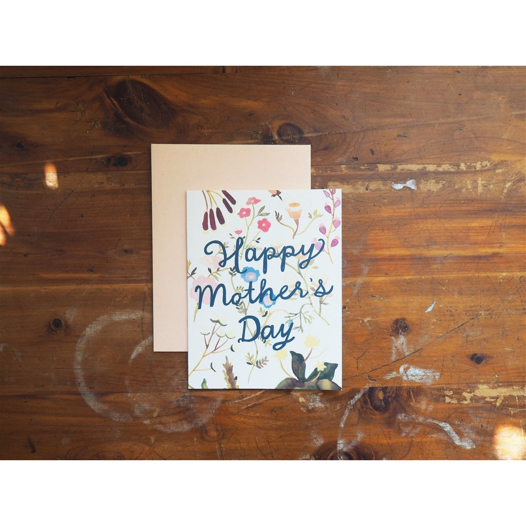 <center>Small Adventure Card - Mother's Day Wildflowers</center>