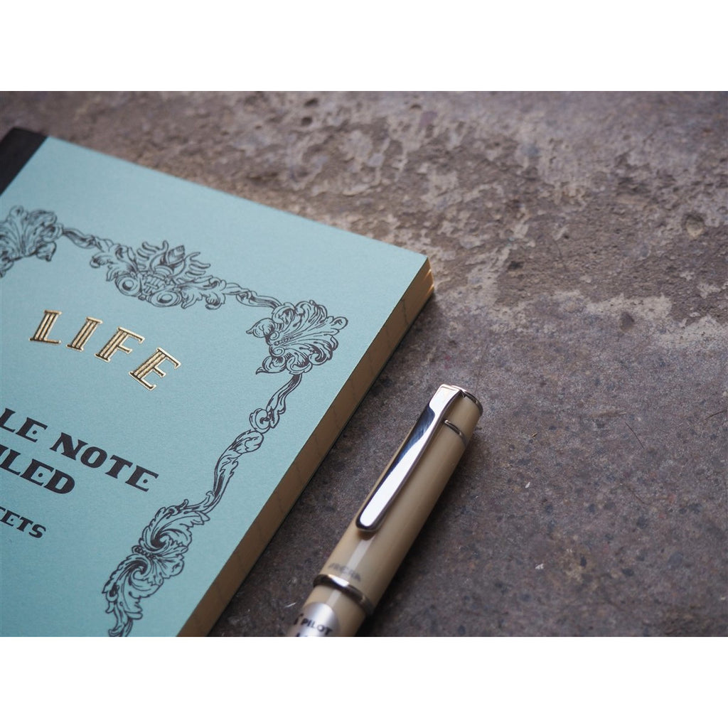 "<center>Life Stationery ""Noble Note"" Lined Notebook - B6</center>"