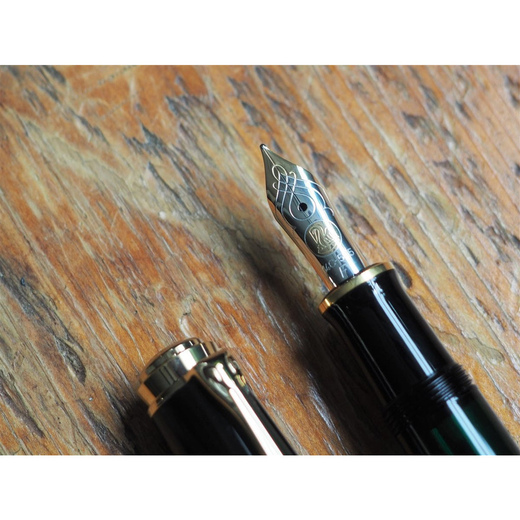 <center>Pelikan Souveran M600 Fountain Pen - Black</center>