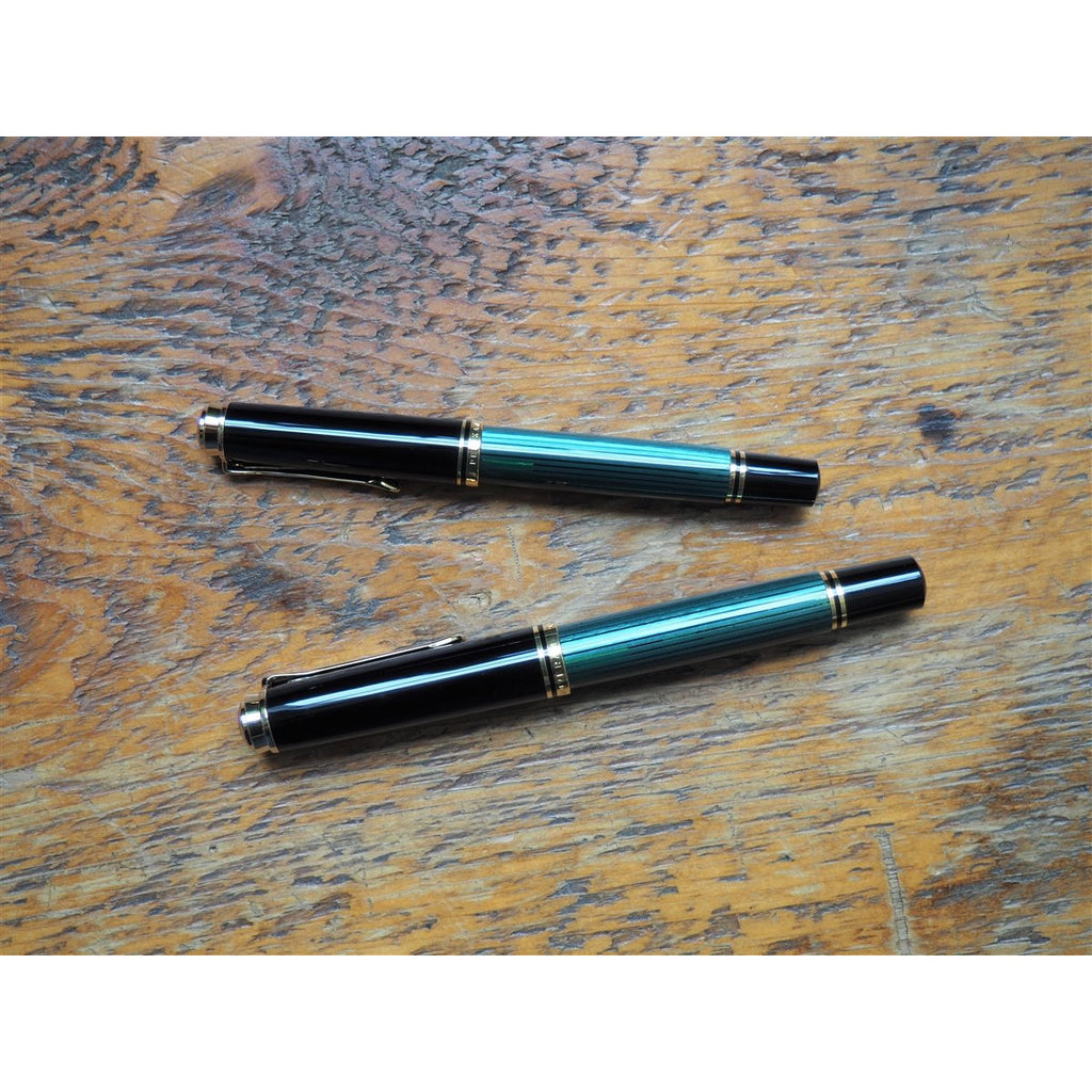 <center>Pelikan Souveran M800 Fountain Pen - Green</center>