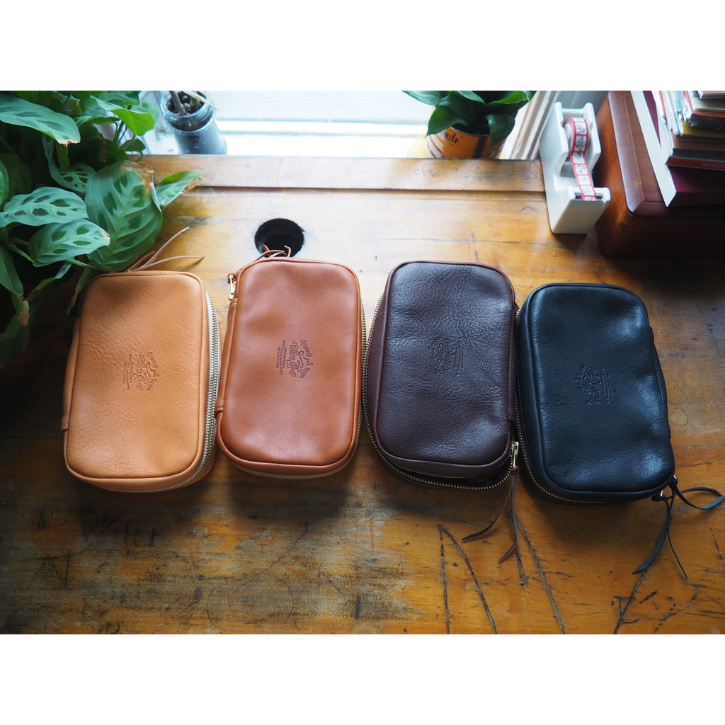 The Superior Labor - Utility Leather Case - Dark Brown