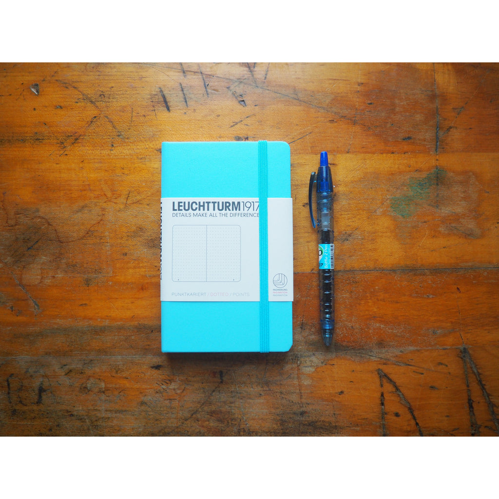 Leuchtturm Hardcover A6 Pocket Notebook - Ice Blue (Dot)