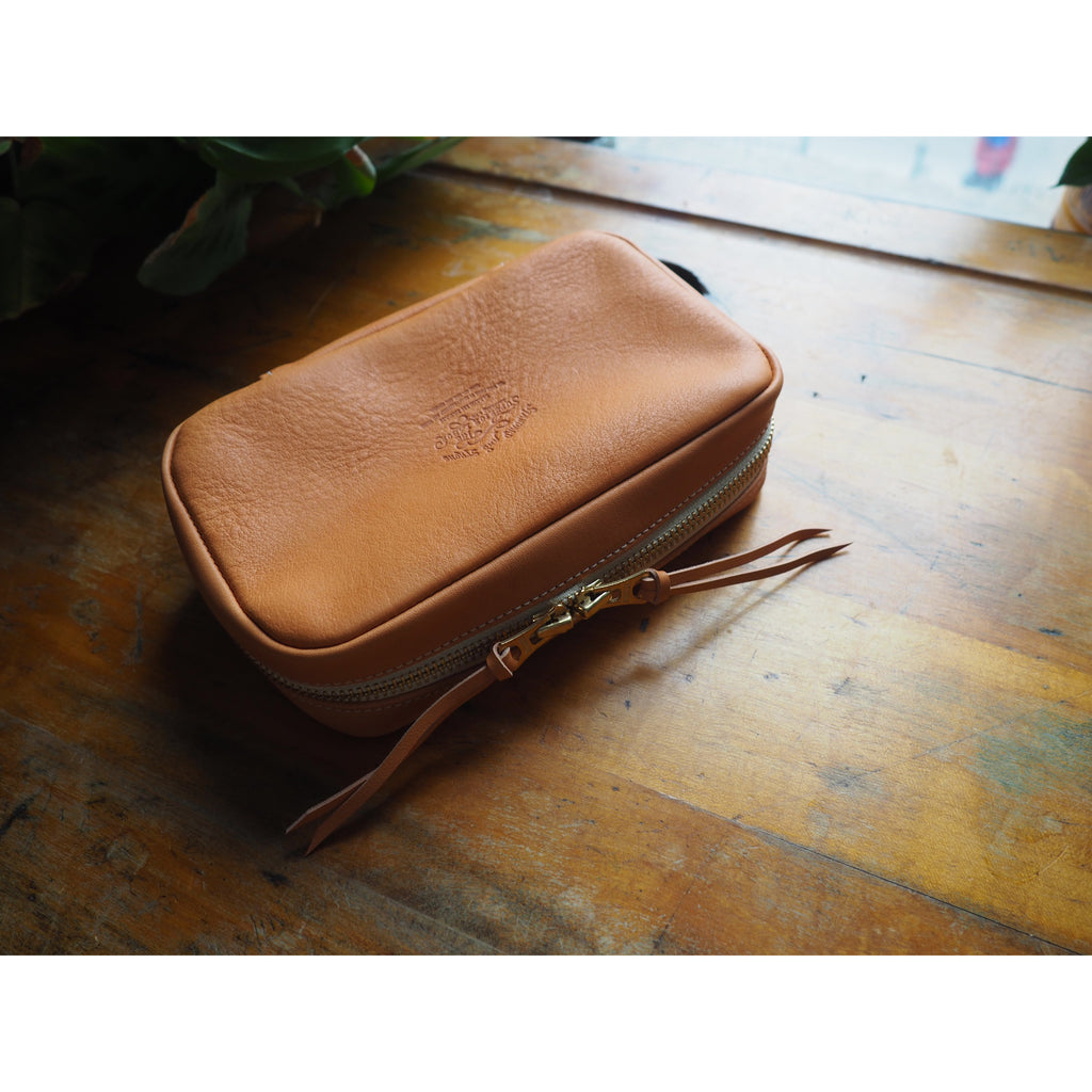 The Superior Labor - Utility Leather Case - Natural