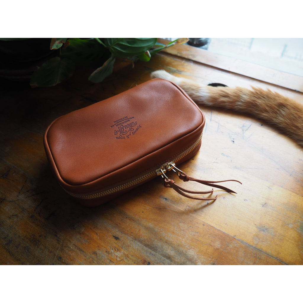 The Superior Labor - Utility Leather Case - Light Brown