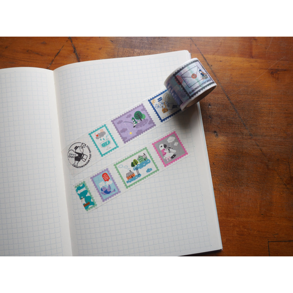 Life - Kyupodo Washi Tape - Hundred Sights on the Cloud Design 1