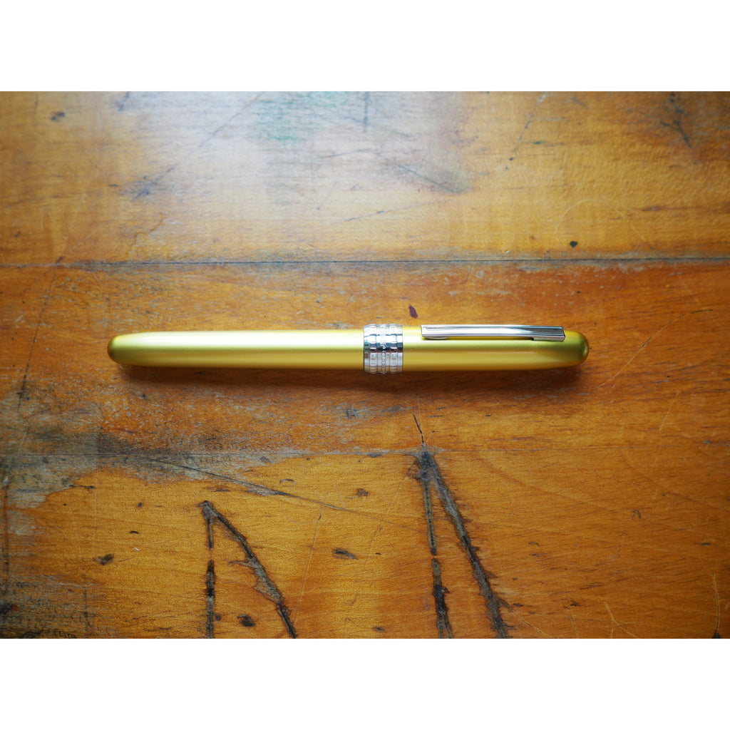 Platinum Plaisir Fountain Pen - Bali Citrus