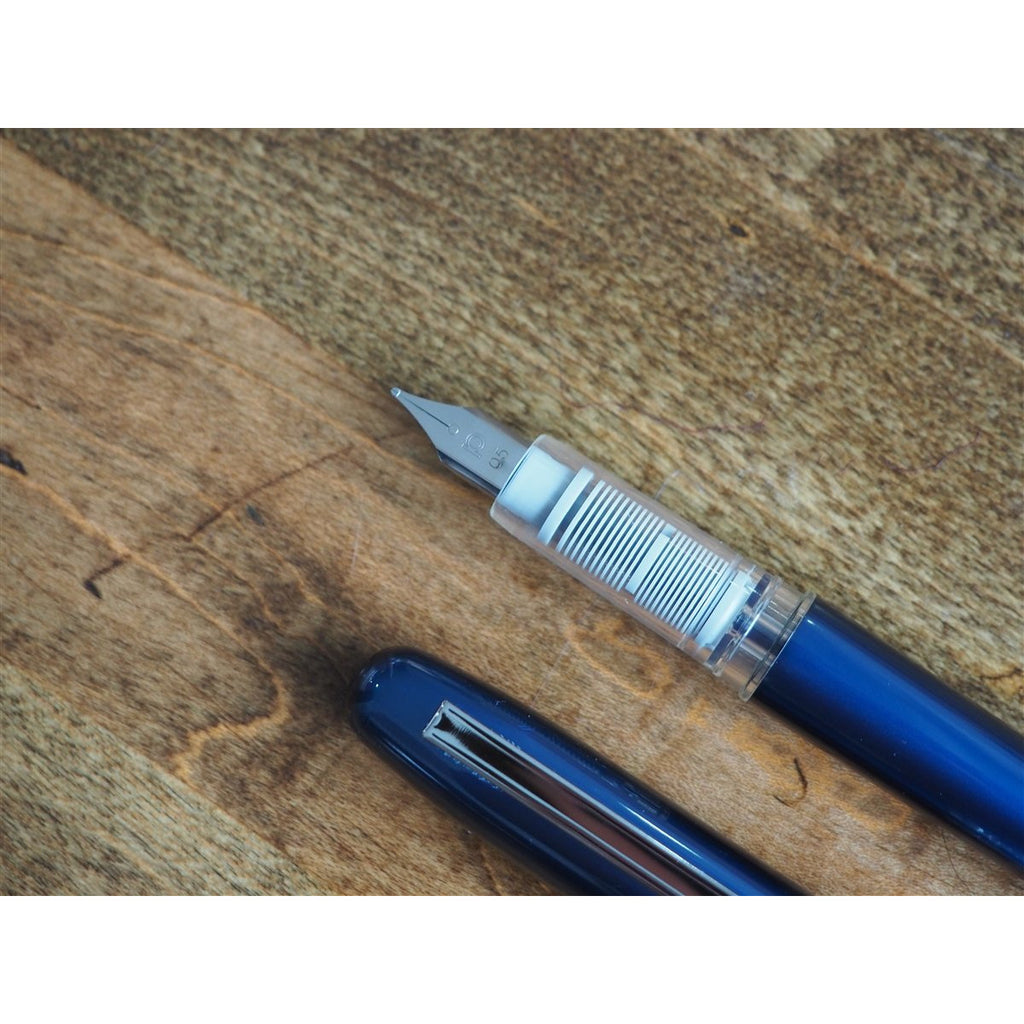 <center>Platinum Plaisir Fountain Pen - Blue</center>