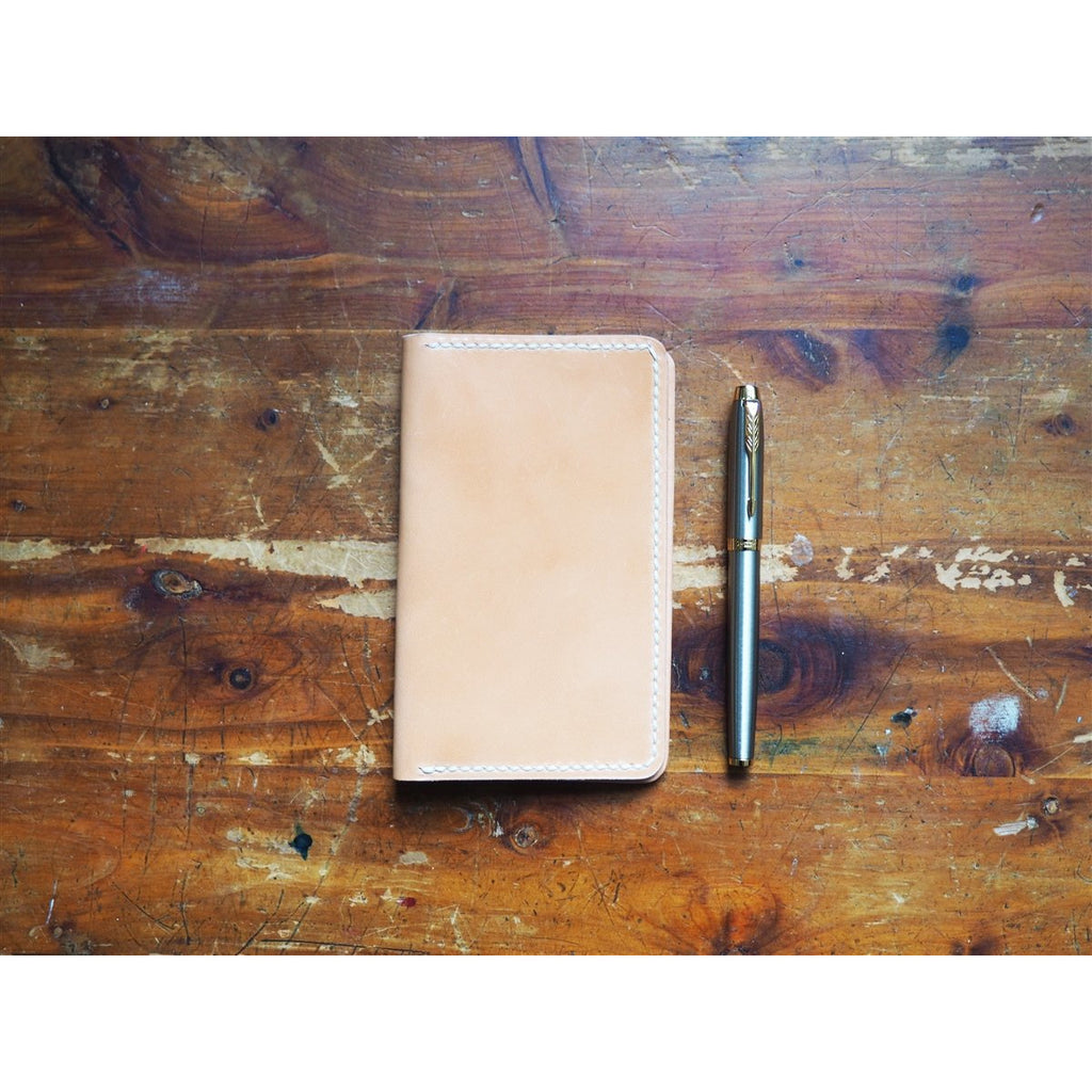 <center>Popov Leather Field Notes No Pockets Cover - Russet</center>