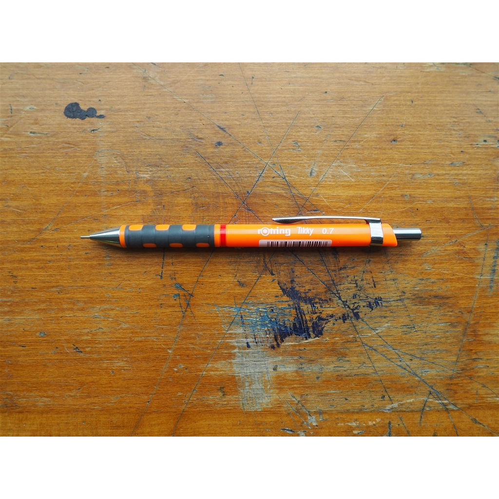 <center>rOtring Tikky Mechanical Pencil 0.7mm - Orange</center>