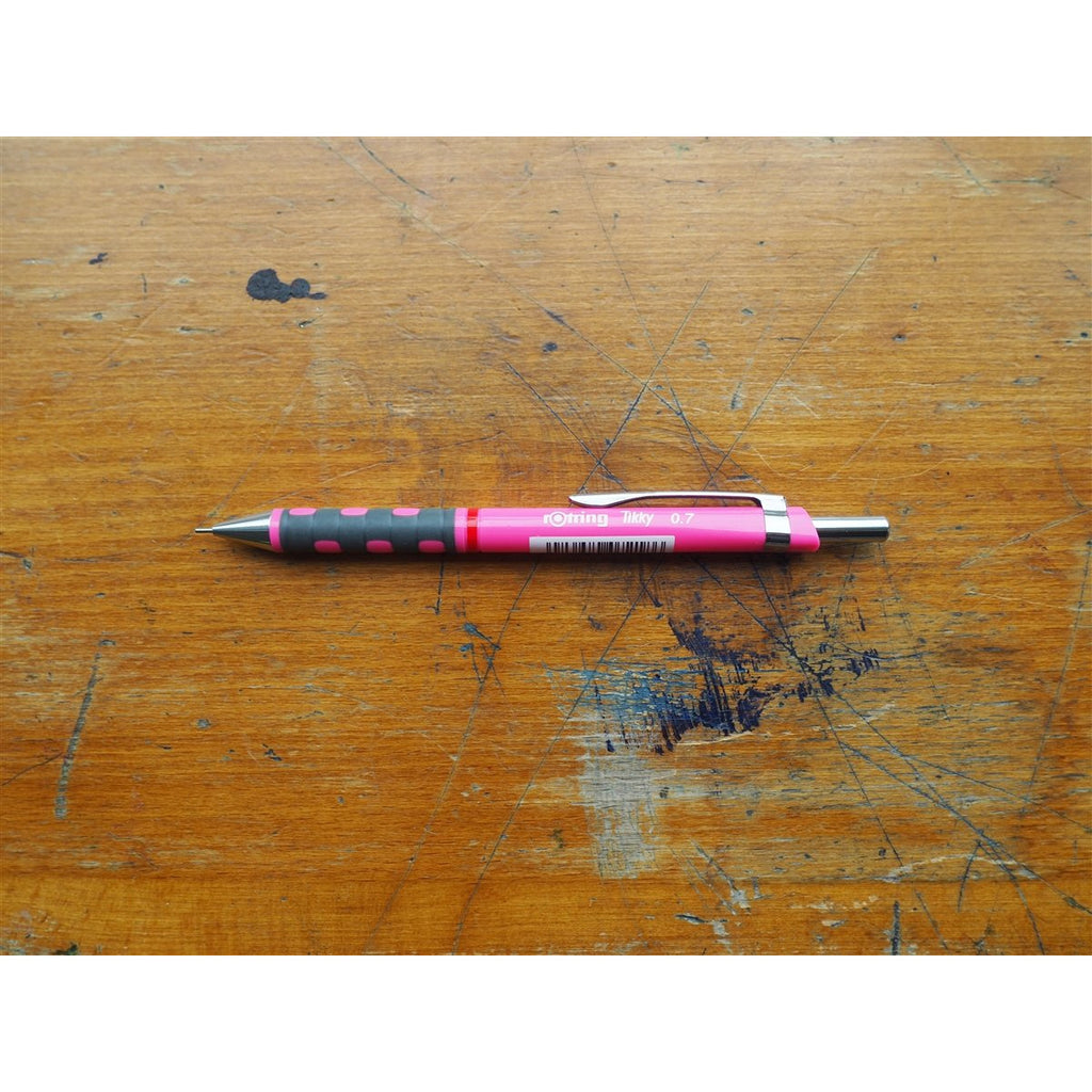 <center>rOtring Tikky Mechanical Pencil 0.7mm - Pink</center>