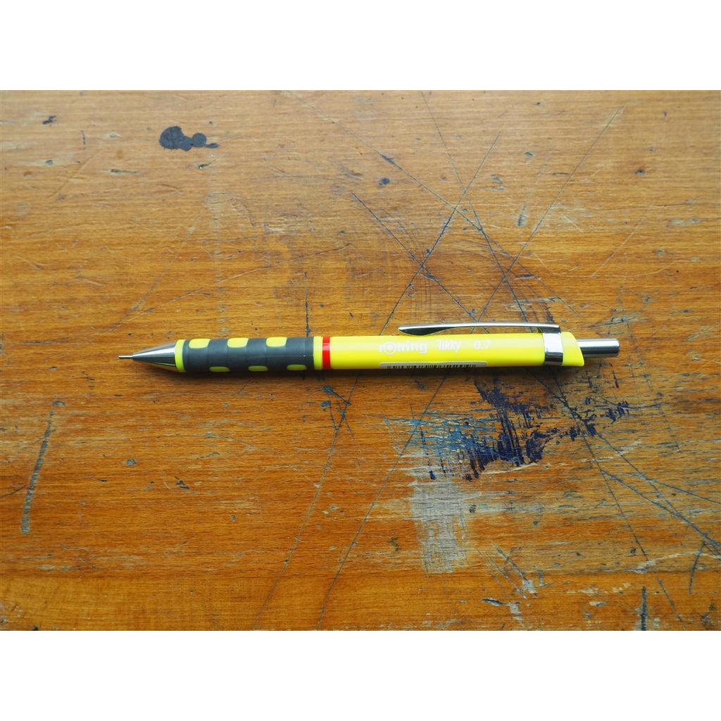 <center>rOtring Tikky Mechanical Pencil 0.7mm - Yellow</center>