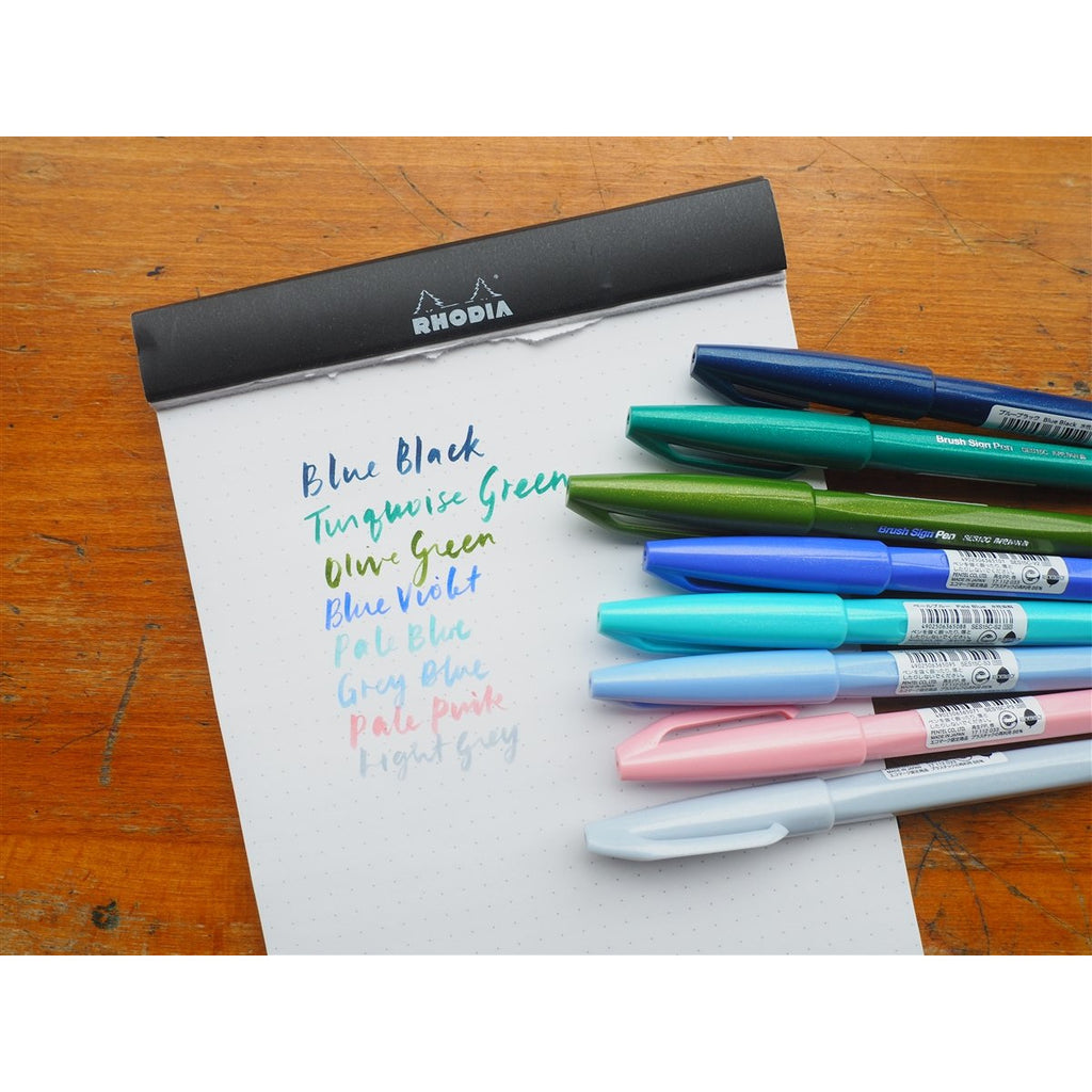 <center>Pentel Brush Sign Pen - Blue Violet</center>