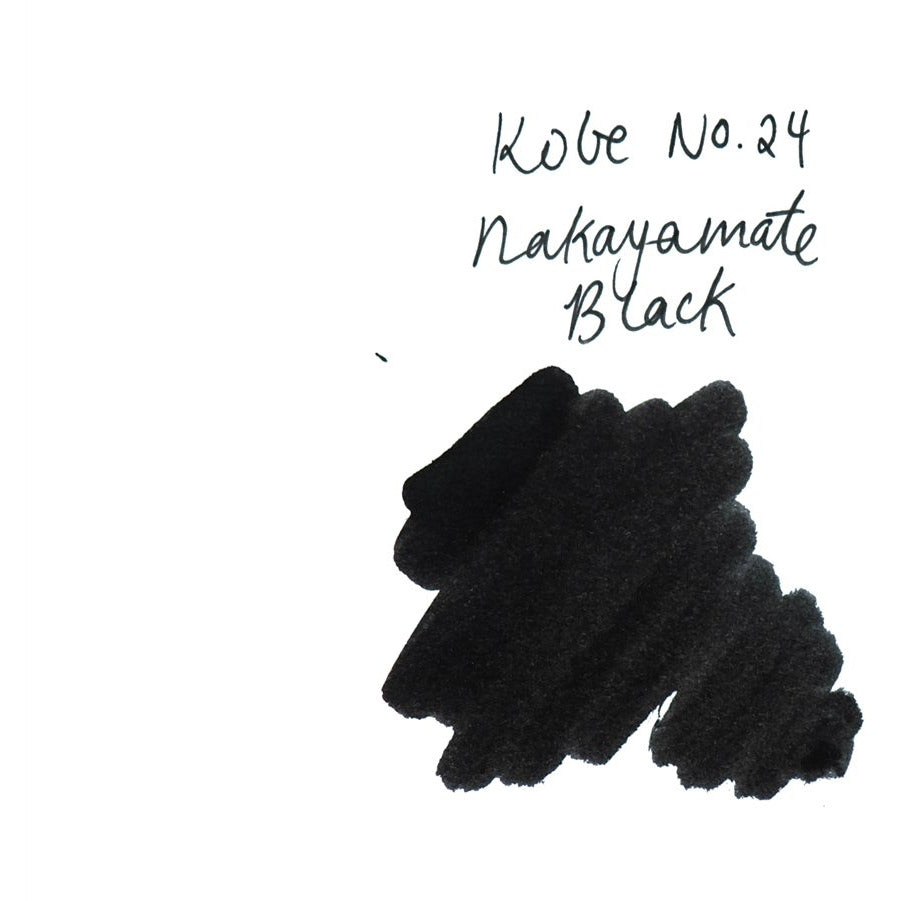 <center>Sailor Kobe Bottled Ink - Nakayamate Black #24</center>