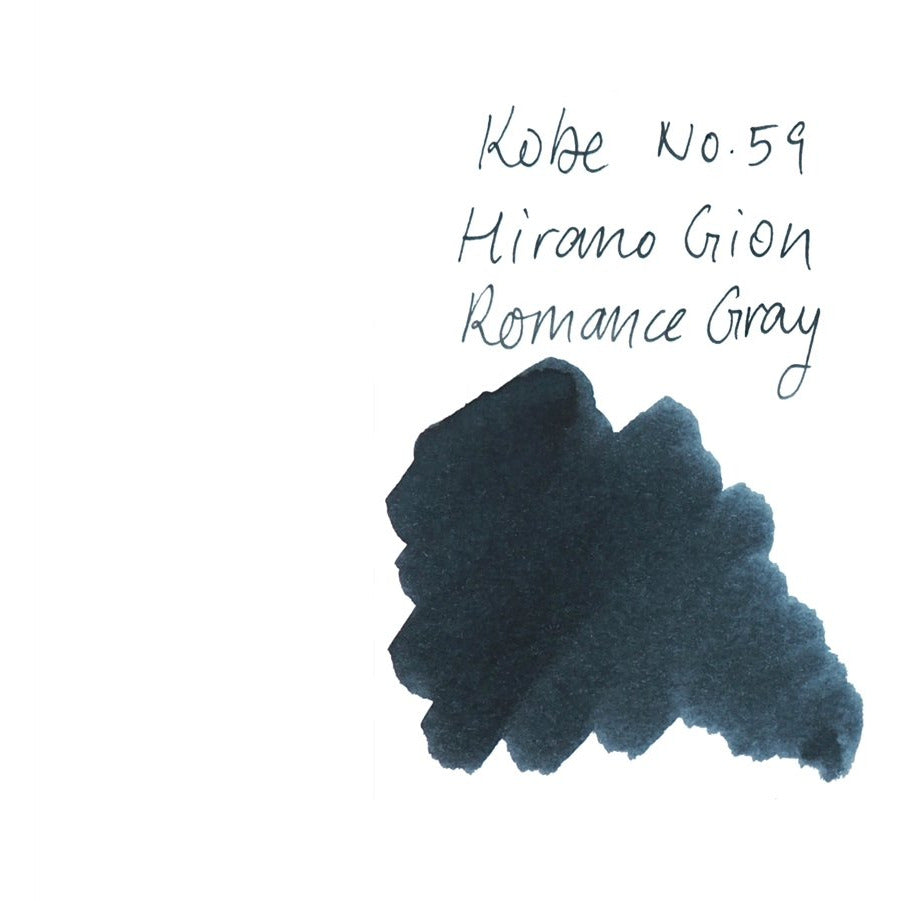 <center>Sailor Kobe Bottled Ink - Hirano Gion Romance Gray #59</center>
