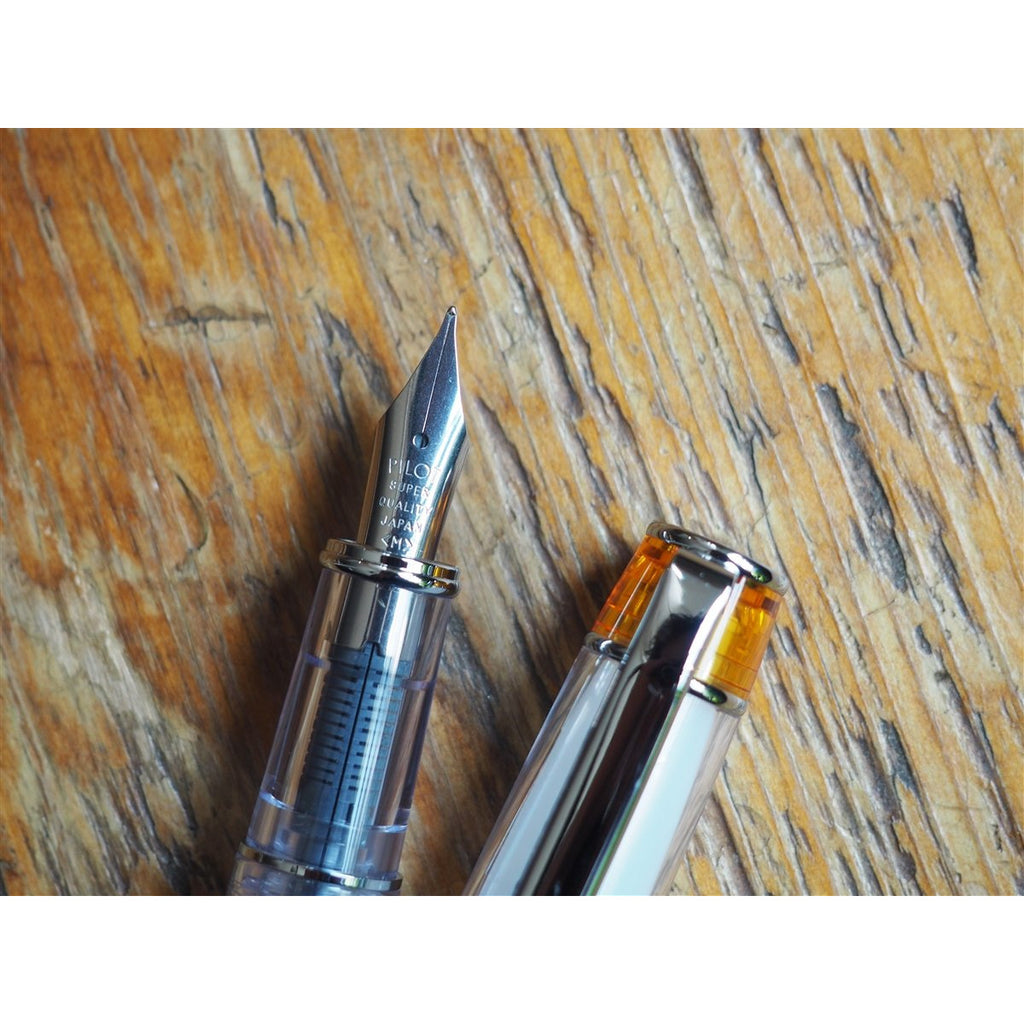 <center>Pilot Prera Fountain Pen - Transparent Orange </center>
