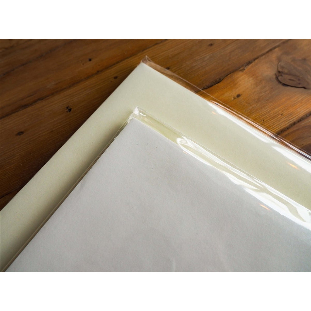 "<center>Tomoe River Paper - 100 Loose (8.5"" x 11"") Sheets - Cream </center>"