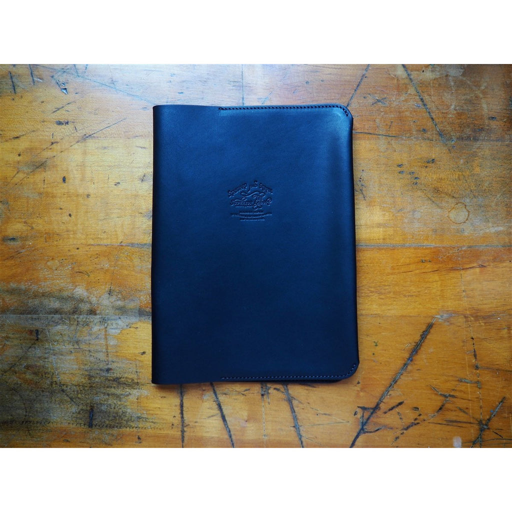 <center>The Superior Labor A5 Notebook Leather Cover - Black</center>