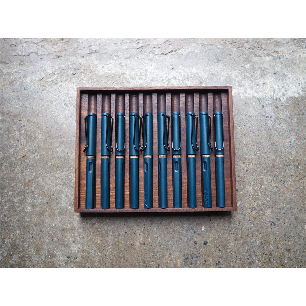 <center>Wooden Pen Tray - 10 Slots</center>